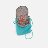 Aqua Fern Crossbody  Hobo