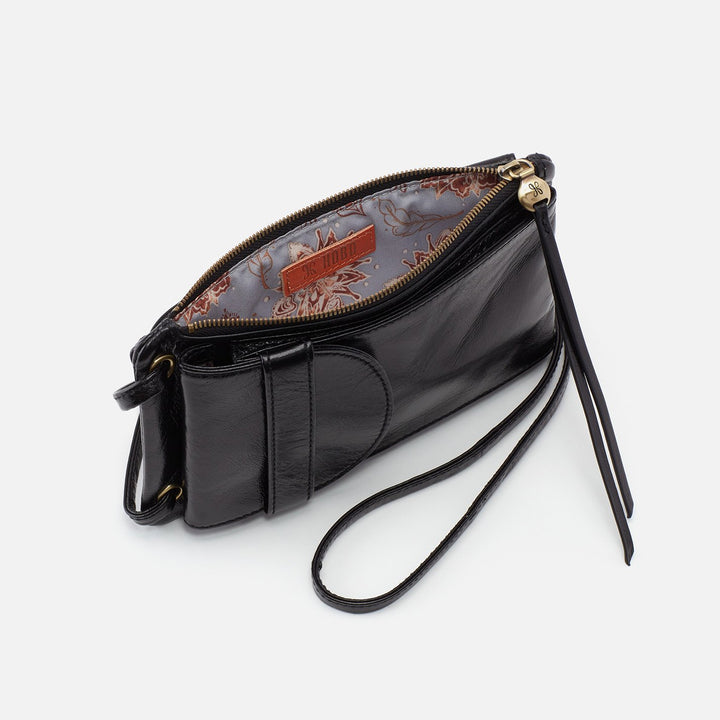 Black Agile Crossbody  Hobo
