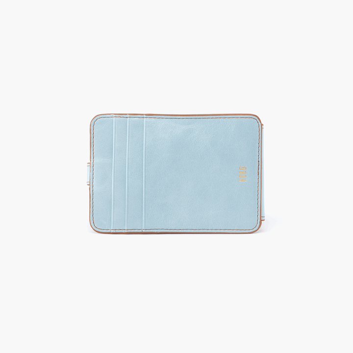 Access Blue Leather Credit Card Wallet