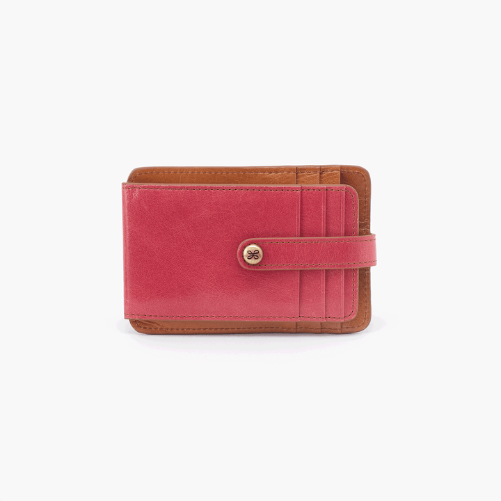 Access Pink Leather Credit Card Wallet