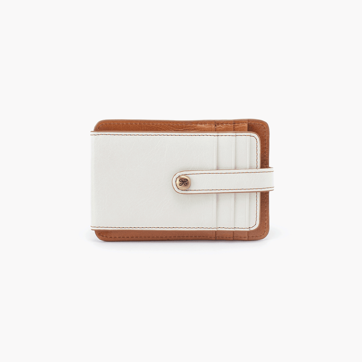 Access White Leather Credit Card Wallet