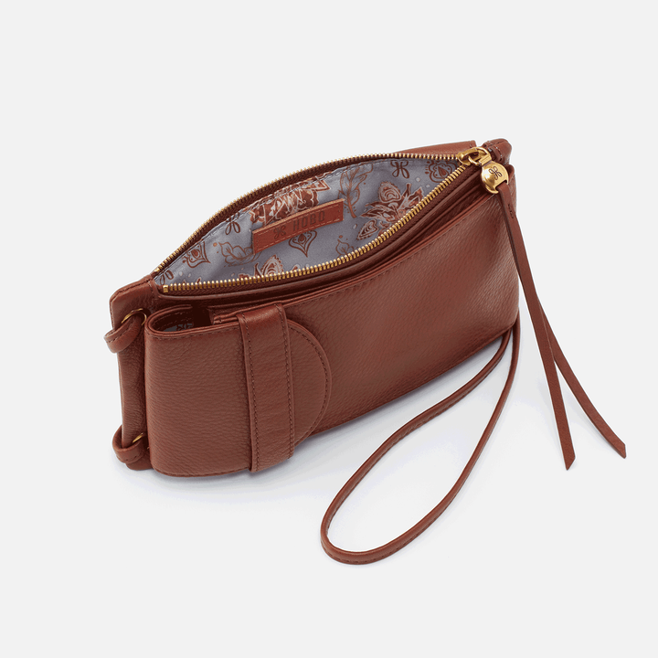 Agile Toffee Leather Crossbody