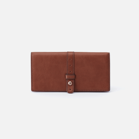 Alta Brown Leather Large Wallet