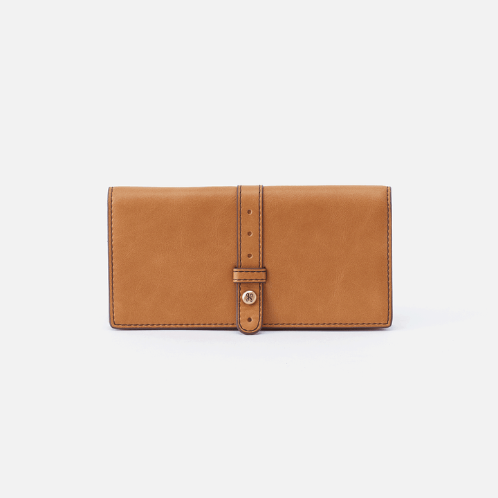 Alta Cognac Brown Leather Large Wallet