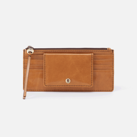 Amaze Cognac Brown Leather Large Wallet
