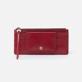 Amaze Red Leather Large Wallet