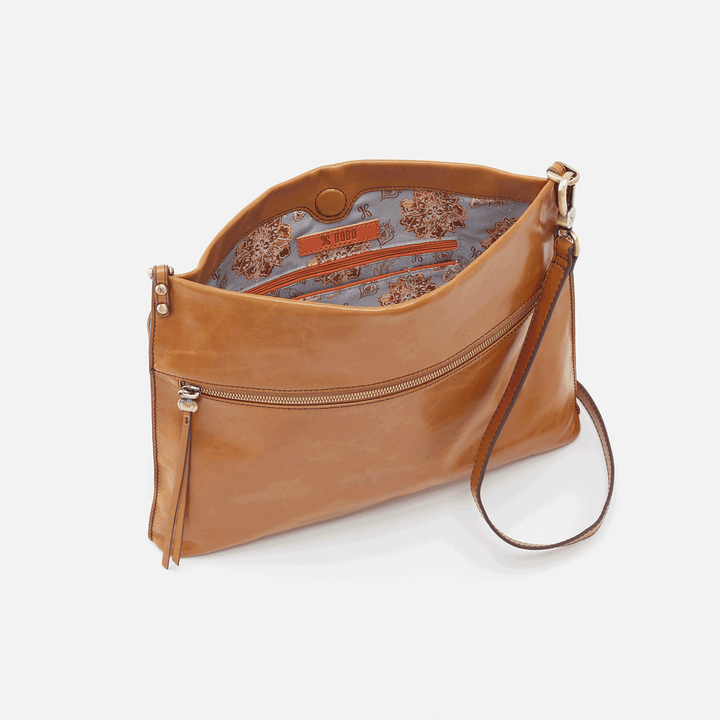 Approach Honey Leather Crossbody
