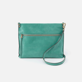 Approach Seafoam Leather Crossbody