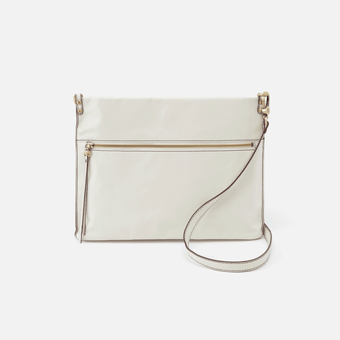 Approach Latte Leather Crossbody