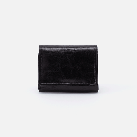 Ara Black Leather Small Wallet