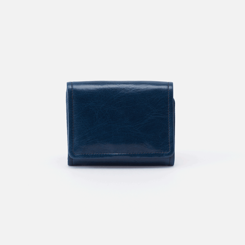 Ara Blue Leather Small Wallet