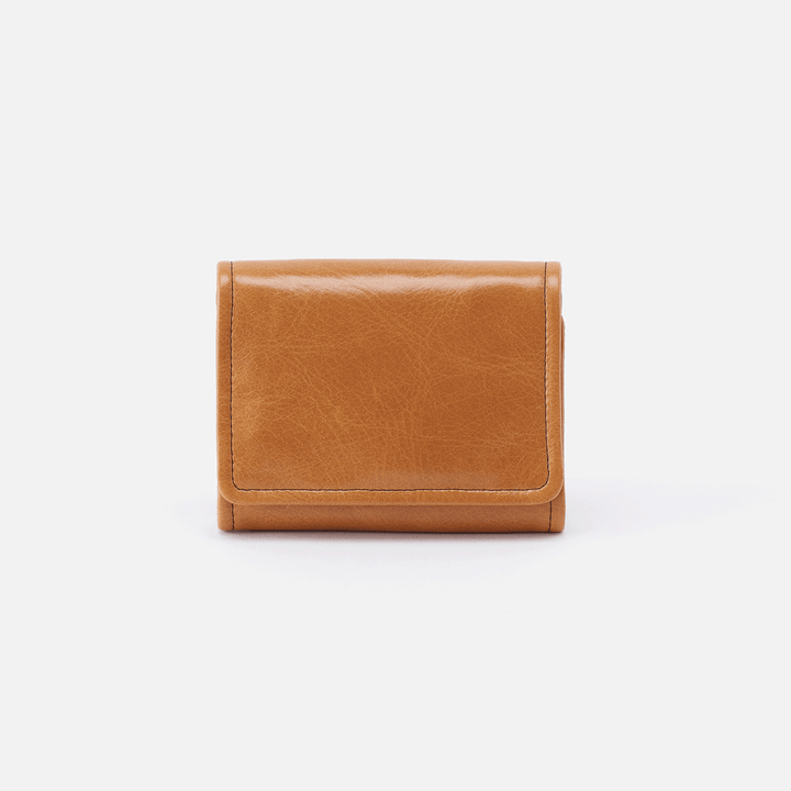 Ara Cognac Brown Leather Small Wallet