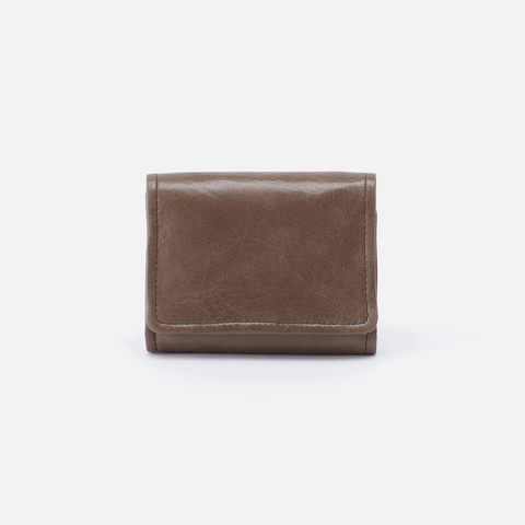 Ara Grey Leather Small Wallet