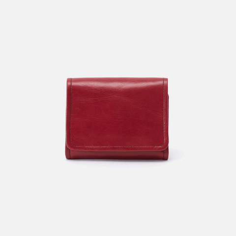Ara Red Leather Small Wallet