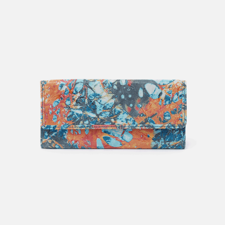 Summertime Abstract Ardor Continental Wallet  Hobo