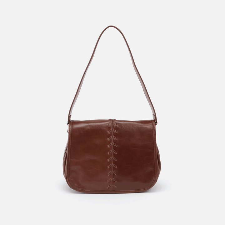 Arlo Brown Leather Shoulder Bag