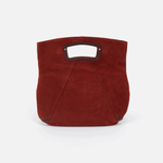 Aspect Red Suede Leather Clutch-Wallet