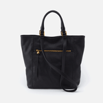 Ballad Black Leather Tote