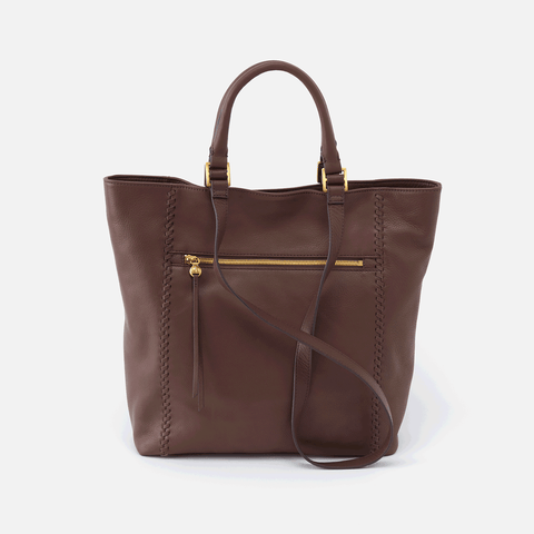 Ballad Brown Leather Tote