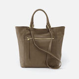 Ballad Grey Leather Tote