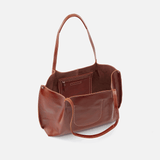 Basis Brown Leather Tote
