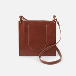 Bask Brown Leather Crossbody