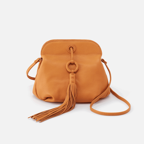 Birdy Butterscotch Leather Crossbody