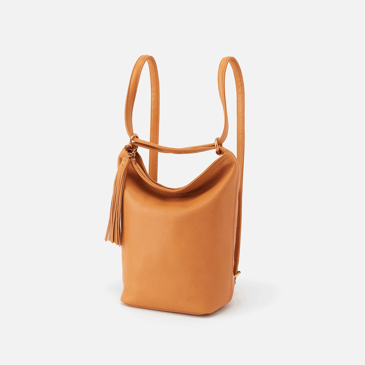 Blaze Butterscotch Leather Backpack