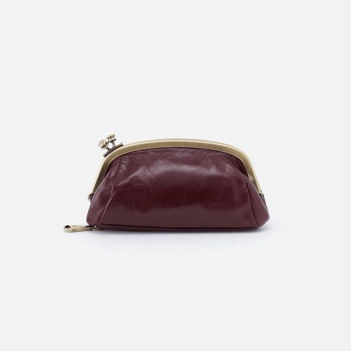 Bliss Purple Leather Pouch