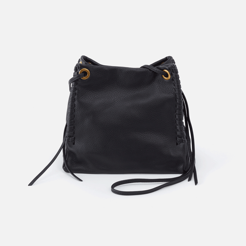 Bolero Black Leather Small Crossbody