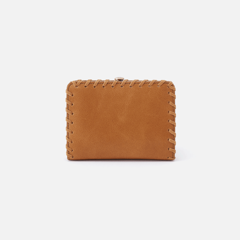 Brin Cognac Brown Leather Wallet