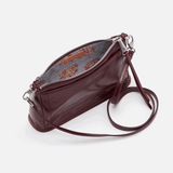 Deep Plum Cadence Crossbody  Hobo