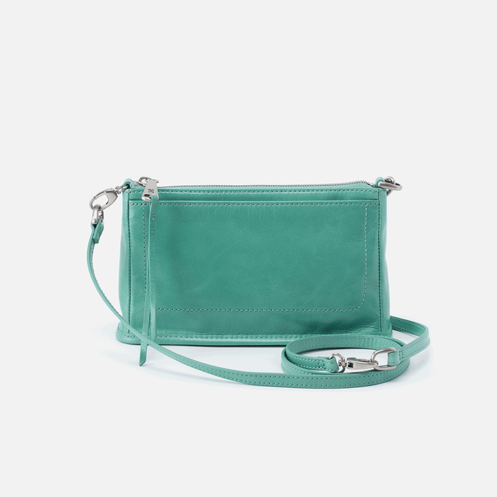 Cadence Seafoam Leather Crossbody