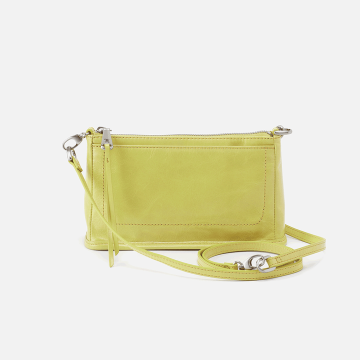 Cadence Lemongrass Leather Crossbody