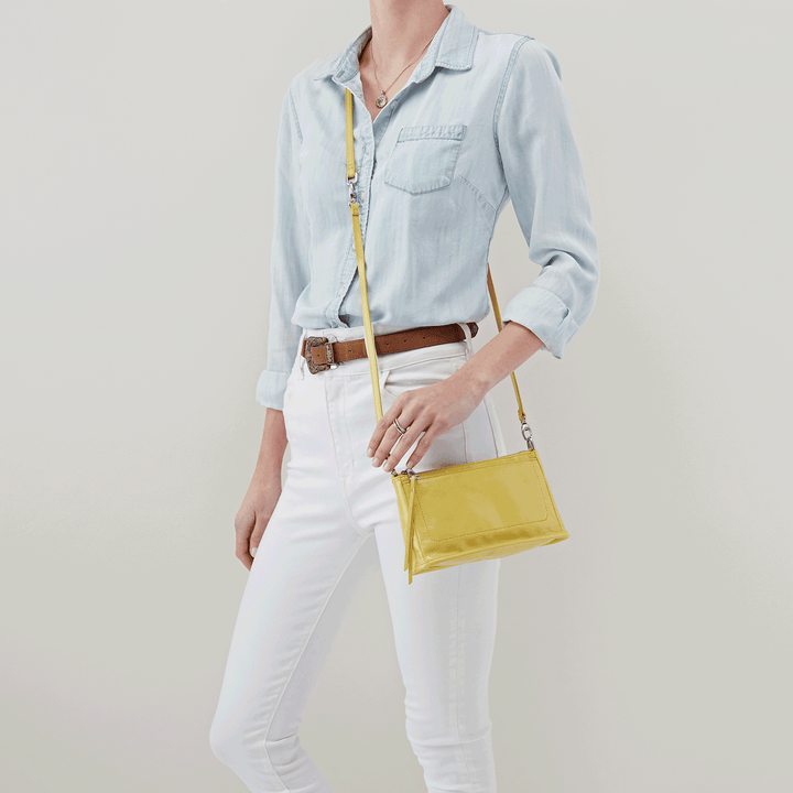 Lemongrass Cadence Crossbody  Hobo