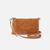 Cadence Cognac Brown Leather Small Crossbody