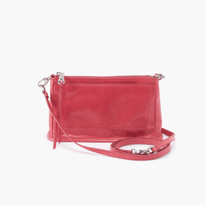 Cadence Pink Leather Small Crossbody
