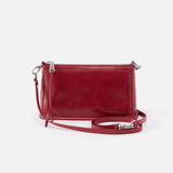 Cadence Red Leather Small Crossbody