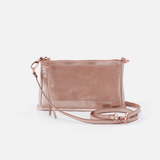 Cadence Rose Gold Leather Small Crossbody