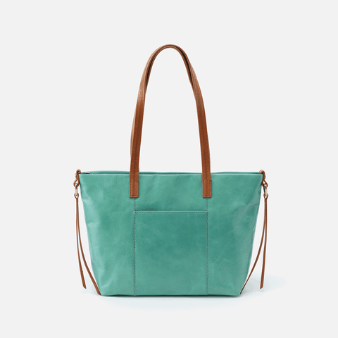 Cecily  Seafoam Leather Shoulder Bag