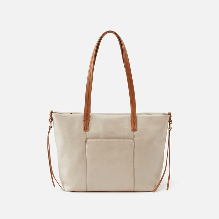 Cecily Sandshell Leather Shoulder Bag