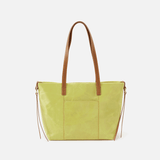 Cecily  Lemongrass Leather Shoulder Bag