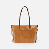 Cecily Cognac Brown Leather Satchel