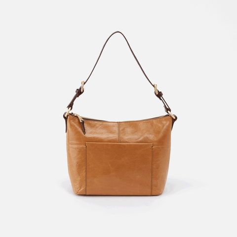 Charlie Cognac Brown Leather Shoulder Bag