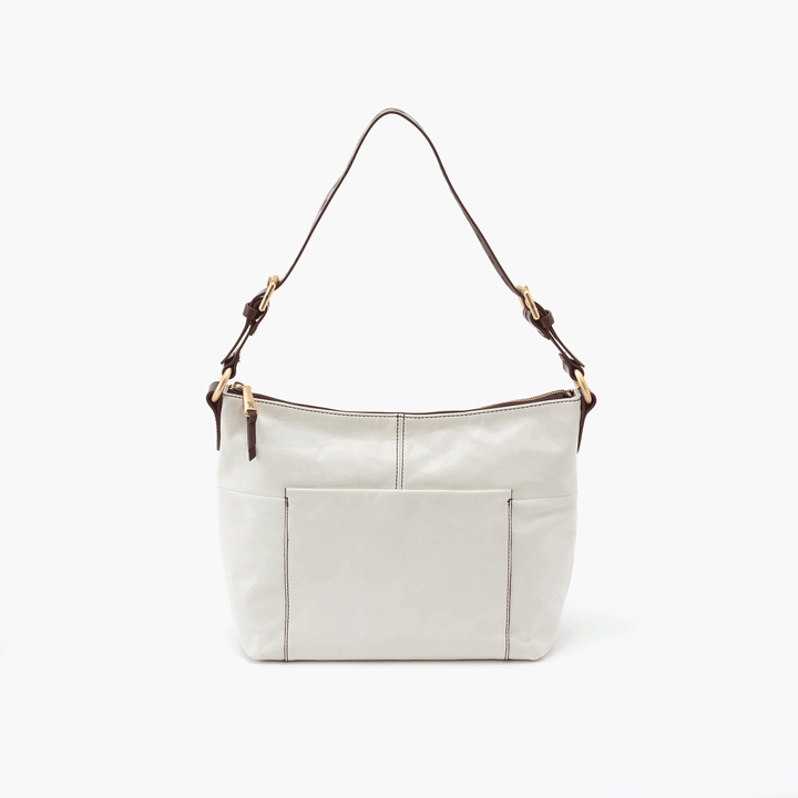 Charlie White Leather Shoulder Bag