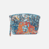 Collect Summertime Abstract Leather Pouch