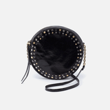 Comet Black Leather Crossbody