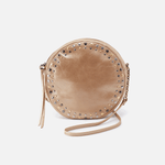 Comet Gold Leather Crossbody