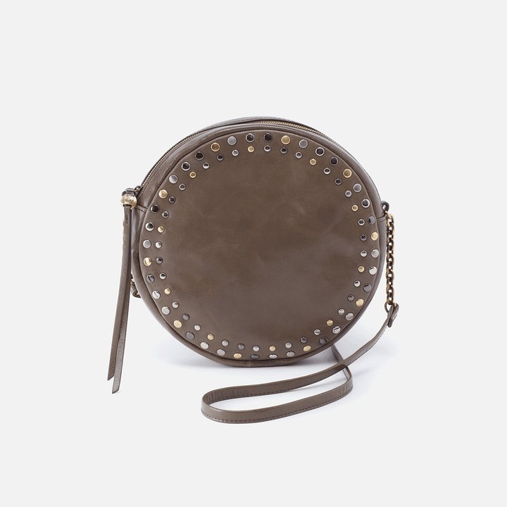 Comet Grey Leather Crossbody