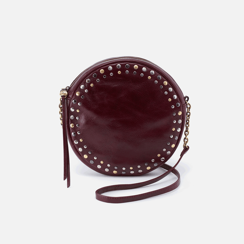 Comet Purple Leather Crossbody